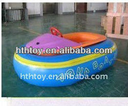 Aqua inflatable kids plastic boats battey operated boat rubber bumper