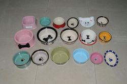 2014 new pet accessories pet bowl.different colors of pet bowl