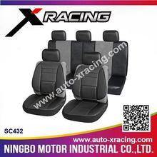 SC432 X-RACING-2015 8pcs universal PU car seat cover