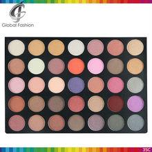 Private label cosmetics palette wholesale makeup OEM accept 35 color private label eyeshadow palette