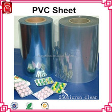 Food-grade security blister packing PVC rigid sheet for medicine
