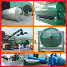 China 16 years experienced manufactured Scrap Tyre Recycling Plant