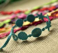 2015 Wholesale Embroidery Design Italy Cruciani Lace Bracelet