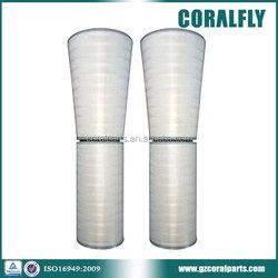 CORALFLY P03-0192 P03-0173 high quality HEPA gas turbine filter