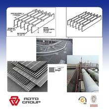 best price hot dip Galvanized Steel grating panel