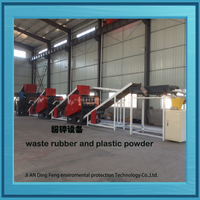 Automatic used/scrap/Waste tyre recycling plant for crumb rubber