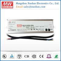 Meanwell 240w 30v dimmable led driver/240W Single Output Switching Power Supply/waterproof electronic led driver