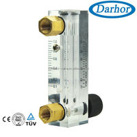 DFG-6T cheap brass connection water rotameter gas meters
