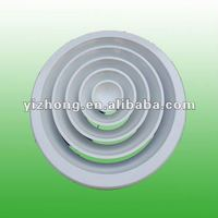 Round ceiling diffuser circle jet ceiling diffuser in air conditioning part