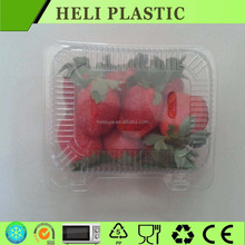 Factory price disposable plastic strawberry/salad packaging tray