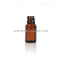 10ml glass amber vial bottle
