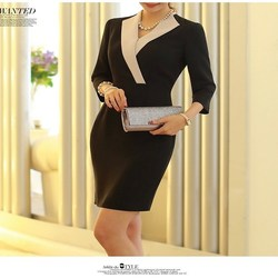High quality ladies office wear suit for business work/ladies wear suit/korea newest business attire