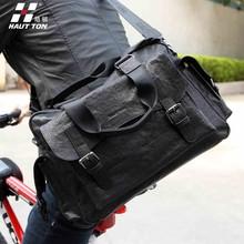 2015 Brand Fashion Sheepskin Genuine Leather Leisure Duffle Bag Shoulder Messenger Bag Business Handbag Travel Bag In Stock