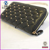China suppliers classical black online shopping fashion PU card wallet factory