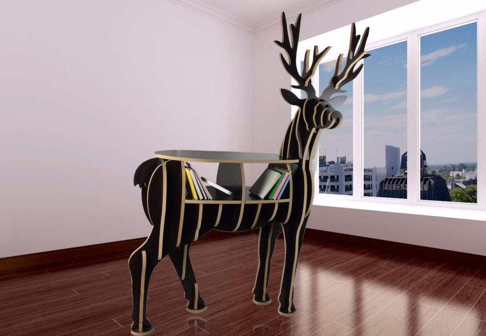 wholesale DIY wood carving craft decoration reindeer of 16