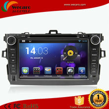 Android 4.4 3G Car Dvd Player For Toyota Corolla Altis Car Dvd Gps With 3G USB Host Radio GPS RDS Bluetooth TV 1080P Ipod