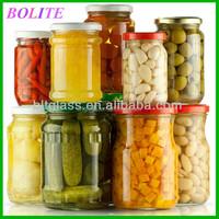big volume glass jar for pickle