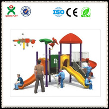 outdoor playground equipment guangzhou/kids plastic play yard/fibreglass products QX-B0098