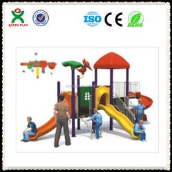 outdoor playground equipment guangzhou/kids plastic play yard/fibreglass products QX-B0098