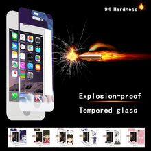 Full Cover Explosion-proof Screen Protector,explosion-proof tempered glass screen protector,9 Hardness cell phone for iPhone 6