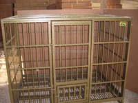 Galvanized Wire Dog Kennels Tube Dog Crate/Pet Cages Kennels