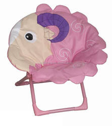 Popular hanging folding animal round moon chairs for children planet chair