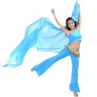 Bestdance sexy arabic big veils shawl for women belly dance costume silk veil for sale OEM 8 colors