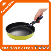 2015 hot new product electric fry pan with detachable handle/round cook frying pan with removable handle