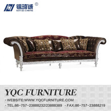 Y1269-3# hot sale eruo style big arm king size fabric arm sofa