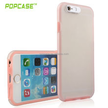 Mobile Phone Hard Case With Glitterring TPU Side for iphone case 6 Accept OEM