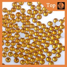 Wholesale hotfix flatback glass rhinestone glass accessories