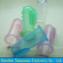 Baby Finger Toothbrush Silicone Children Finger Toothbrush