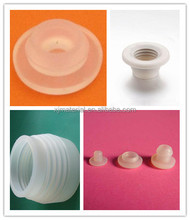 China manufacturer medical grade custom silicone rubber products