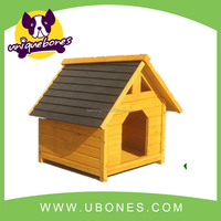 Retail! large size strong durable wooden dog house made with fir wood dog house pet kneel