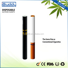 Disposable E cigarettes 200puffs e-hookah bud-ds80, Measures 87 x 8.7mm, Similar to Real Cigarette