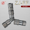 ISO 16028 flat face hydraulic quick coupling