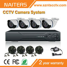 HOT !! 2015 best selling 4CH HD DVR KIT or CCTV Camera System,indoor and outdoor 800tvl security cctv camera system