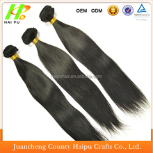 Best Quality 100% Remy Human Indain Vrigin Hair Weft Cheap Remy Brazilian Hair Weave 120g Peruvian 100% Human Hair Extension