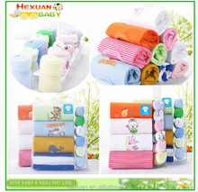 Long Sleeve 10-pieces Baby Gift Set Infant Clothing New Born Gifts Box Set Baby clothing Carter's Rompers+towels Little