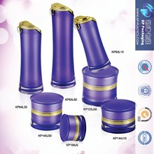 15ml 30ml 50ml Round Acrylic Lotion Bottle/Serum Bottle/Plastic Container For Cosmetic Packaging