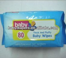 Aloe and Fragrance Baby Nonwoven Wipes