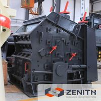 Zenith high efficiency high efficience copper ore impact crusher with low price