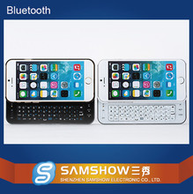 Newest stock and cheap 4.7 inch case mobile phone bluetooth keyboard for cell phone for iPhone 6