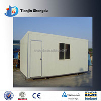 BEST PRICE FOR low cost color steel sandwich panel prefab house