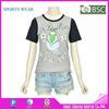 Custom high quality cotton tee shirt womens t-shirt made in china dri fit t shirts wholesale
