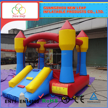 Fits school and other entertainment small inflatable bounce house