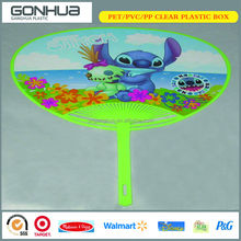 Famous Old Picture Hot Sale Promotional Disney China Vendor High Quality Cheap Plastic Fan Popular Summer Gift Advertising PP