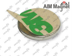 """Ni Plated Small Tolerances Neodymium 1/2 """" x 1/8 """"Magnet for Craft & Model Making"""