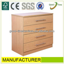 melamine MDF chest of drawers tall cabinet storage cabinet