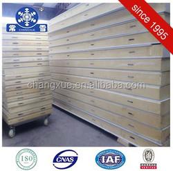 Hot selling polyurethane foam pu sandwich panel for door